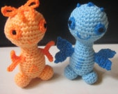Crochet Amigurumi Toy Pattern Plush Crochet Pattern PDF Instant Download CUTEES Orchid and Bruno