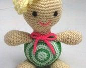 Animal Crochet Pattern Crochet Amigurumi Pattern PDF Instant Download Tootsie Tortoise