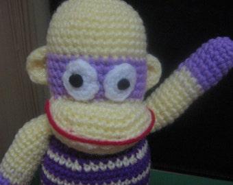 Monkey Crochet Pattern Toy Crochet Pattern Crochet Amigurumi Pattern PDF Instant Download Monkey Mosie