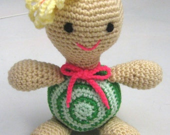 Animal Crochet Pattern Crochet Amigurumi Pattern PDF Instant Download Tootsie Tortoise