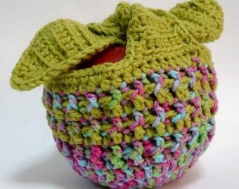Apple Cozy Crochet Pattern Fruit Jacket Pattern PDF Instant Download Fruit Cozy Pattern