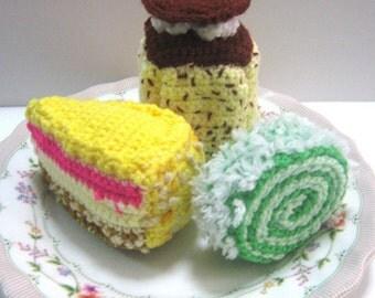 Cake Crochet Pattern Sweet Food Crochet Pattern PDF Instant Download Cake Temptations
