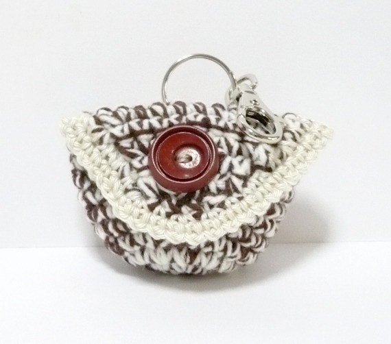 Coin Purse Crochet Pattern Small Bag Crochet Pattern Mini Purse Pattern PDF Instant Download Small Purse with Flap Cover and Clasp