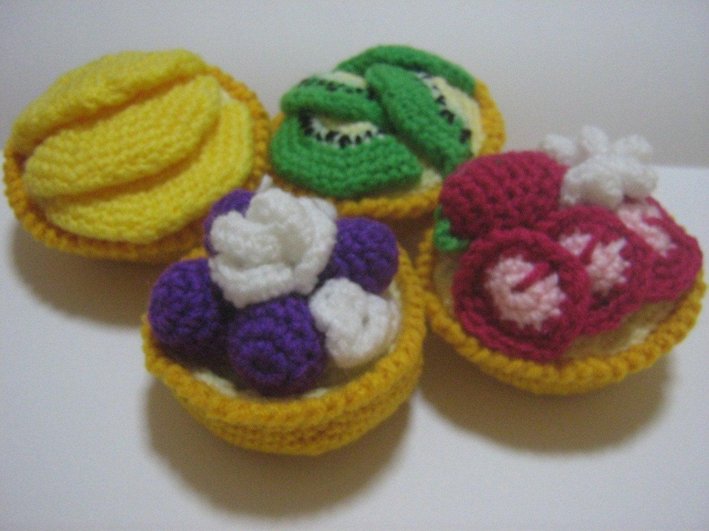 Crochet food pattern tart crochet pattern pdf instant download zoom bankloansurffo Choice Image