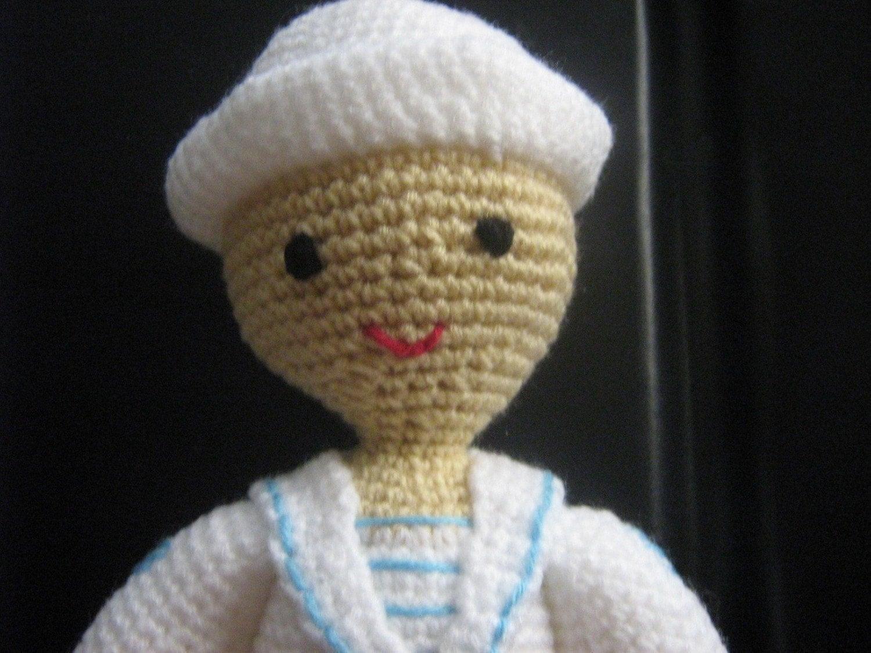 Stitch Amigurumi Doll Pattern : Amigurumi Doll Crochet Pattern Boy Crochet Pattern PDF Instant