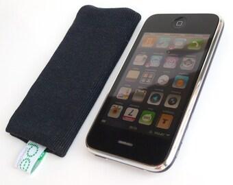 iphone sock - black