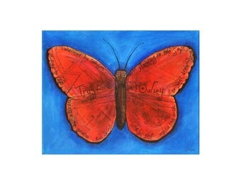 Floating in the Sky Butterfly Limited Edition Print