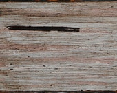 """ORIGINAL Painting - """"Weatherboard IV"""" - (One of Four) Bitumen, Acrylic and Mark Making on Recycled Pine Board (40cm x 16cm)"""