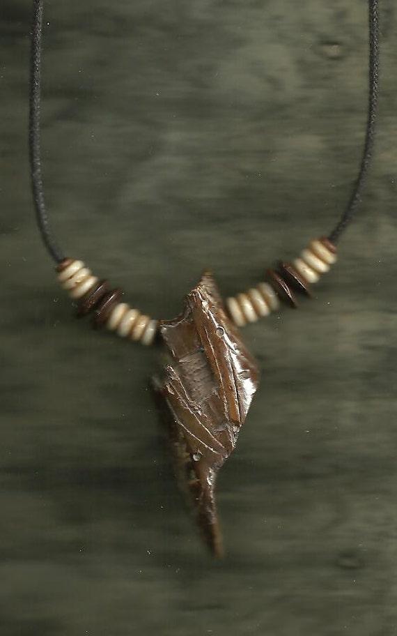 Ancient Alaskan Eskimo Ivory Artifact Necklace