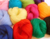 Funky Felter Pile of Wool in 12 Colors