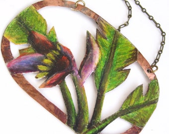 The Banana Plant Sprout Necklace