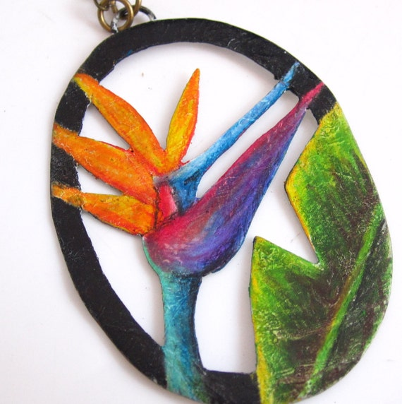 Bird of Paradise Necklace