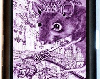 Rat King Cigarette Case Business Card Holder Wallet King of the rats Rodent God