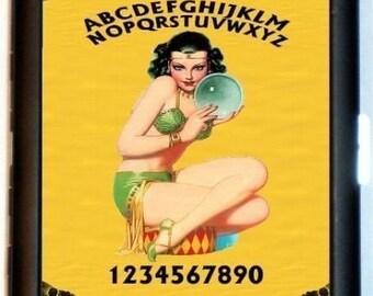 Ouija Board Fortune Teller Cigarette Case Business Card case Wallet Gypsy girl Crystal Ball