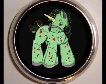 Zombie Unicorn Pill box Pillbox Case Holder for Vitamins Drug Box Kawaii Cute