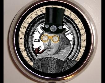 William Shakespeare Pill Box Pill Case Victorian Steampunk