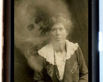 Spirit Photography Cigarette Case Business Card Case Wallet Photo Ghosts Medium Fraud Ghost Hunter