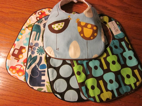 BABY BIB Custom Made in Your Choice of Fabrics