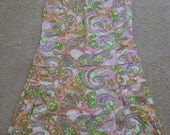 60's Paisley Scooter Dress
