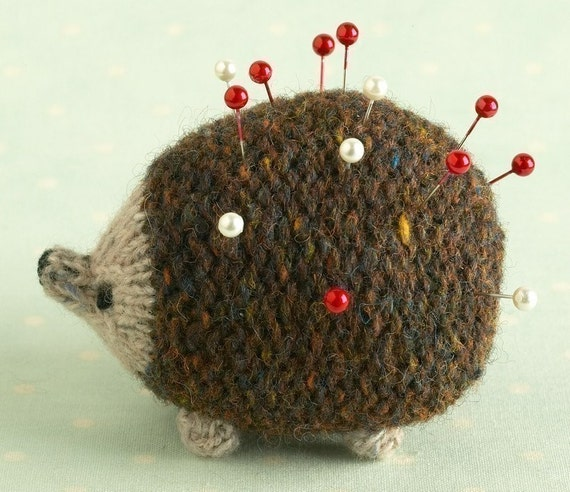 Hedgehog Toy Knitting Pattern : Toy knitting pattern for a little hedgehog from ...