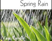 Spring Rain Vase Candle Wax Tart Melts