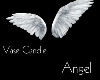 Angel Vase Candle 2.8 oz Wax Melts - Highly Scented, Hand Poured Fresh, Premium Paraffin Soy Blend Wax Tarts, 25 Hour, Color Free
