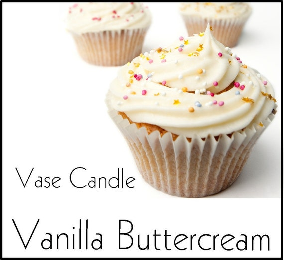 Vanilla Buttercream Candle Refill for Vase Candle