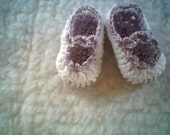 Lavender Mary-Janes  -- Baby-Girl Shoes N Newborn -03 Months