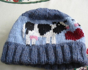 Cow Hat PDF PATTERN
