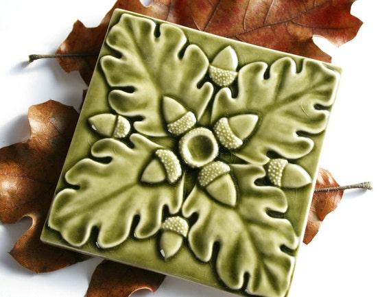 Fern Green Kitchen Tiles
