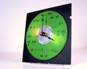 Math Equation Clock (Green)