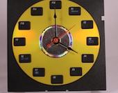 Keyboard Function Key Clock (Yellow)