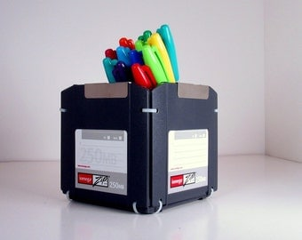 ZIP Disk Pencil Holder