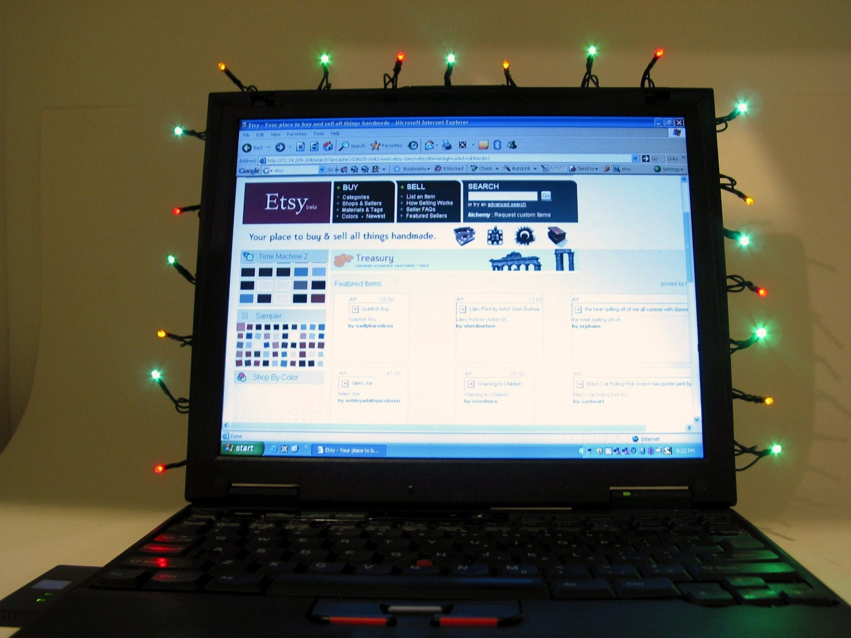 Computer Powered Christmas Lights Usb