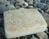 Natural Shea Butter Soap Soothing Oatmeal with Lavender Essential Oil 4 oz.