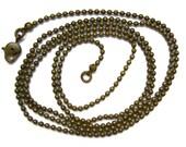 Ball chain 80 cm\/ 31.5 inch
