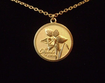 Flower of the Month Necklace