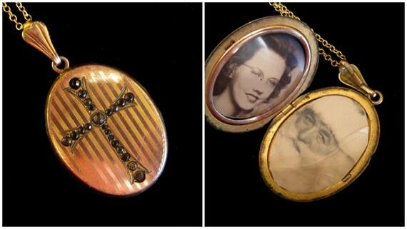 Believe - Vintage Locket Necklace SALE