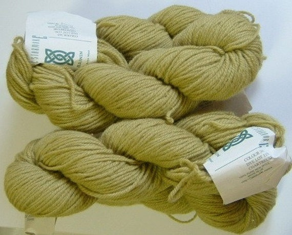 Pure Aran Wool Alice Starmore Bainin 4 Skeins 3 Ply
