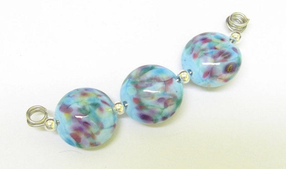 Handmade Lampwork Beads - Carnivale - SRA