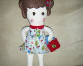 Yadira fabric doll