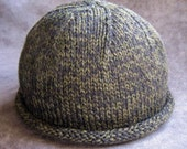 Pattern, Rolled Brim Boyfriend Hat, knit