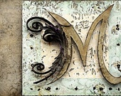 The Letter M - 5x7