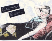 ACEO  Drama Queen