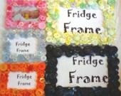 RESERVED FOR ERIN-Set of Button Fridge Frames