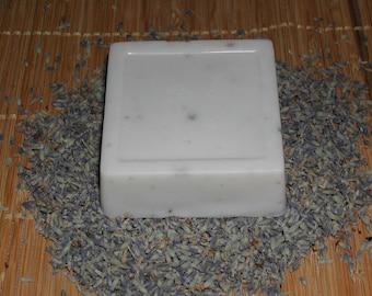 Goat Milk Lavender Soap-Hand Made-All Natural-Big Bar 5.5- 6.0 oz.