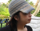 Twister Hat Knitting Pattern - PDF download only