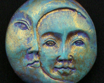 Polymer Clay Sun and Moon Cab SMC 2