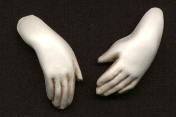 Polymer Clay Doll Hands Whthnds 3