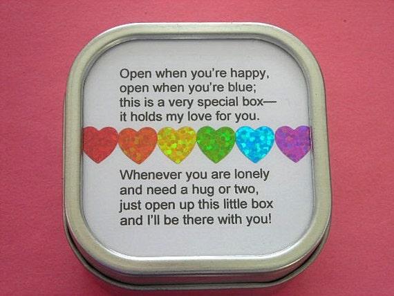 Rainbow I Love You  Hearts